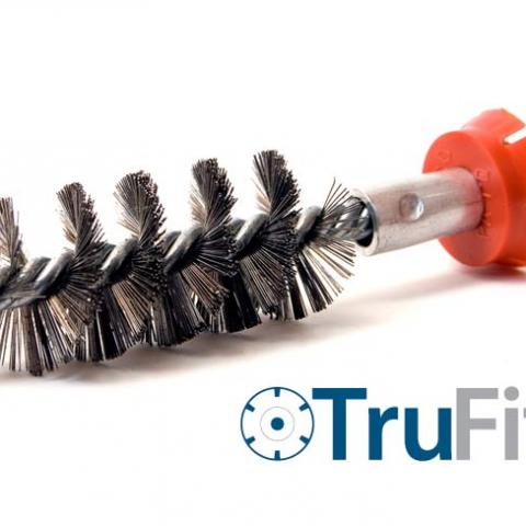 TruFit™ Stainless Steel Twist Brush